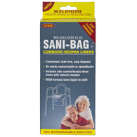 Sani Bag-Plus by Cleanwaste Commode Liners-200 Bulk Pack (H673S200)